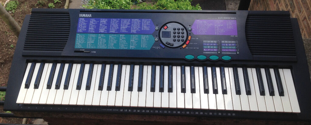 yamaha portatone psr 185 61 keys electronic keyboard synthesizer full size keys in kennington