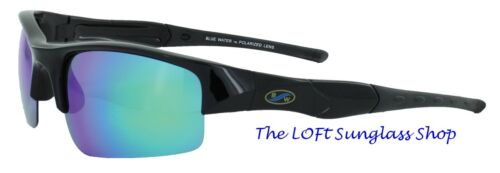 Sunglasses Blue Water Titanium Coated Lens Polarized Mens Islander  IGTM-3