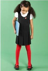 Girls school pinafore skirt dress ex store M*S  age 3 4 5 6 7 8 9 10 11 12 13