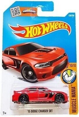 Hot Wheels, 2016 Muscle Mania, '15 Dodge Charger SRT Hellcat