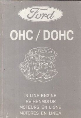 FORD 1.3 1.6 1.8 2.0 OHC/DOHC ENGINE INCL COSWORTH YBD PICTORIAL PARTS CATALOGUE