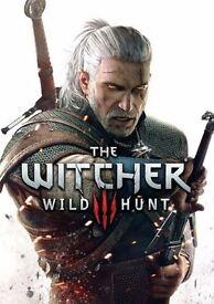 Witcher 3 Wild Hunt.
