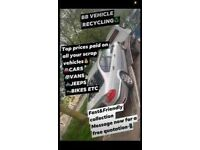 TOP PRICES PAID ON ALL OF YOUR SCRAP VEHICLES🚘🚐🏍