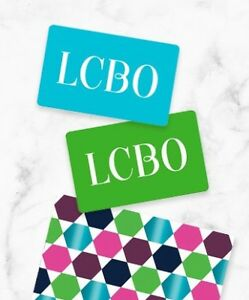 150$ worth of LCBO gift cards! (2x50$ + 2x25$)
