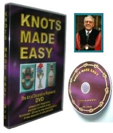 BARGAIN Stock Clearance 760 new, 94 min Tutorial Knots Made Easy DVD
