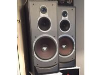 Cerwin Vega V12-F speakers