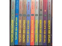 TAFSIR IBN KATHIR Books, Islamic Boook Set, Complete Set 1-11, Islamic Studies, Arabic & English