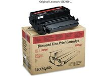 Original Lexmark 1382100 Black Toner Cartridge