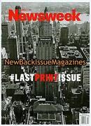 Newsweek Last Issue