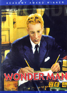 Wonder Man (1945) / Danny Kaye / Virginia Mayo / DVD SEALED