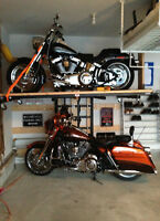 Motorcycle / snowmobile storage & repair lift