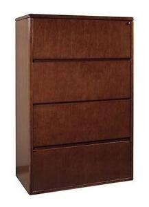 4drawer wood file cabinet