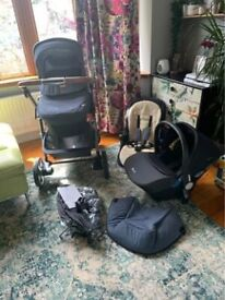 Silver cross pioneer limited edition travel system