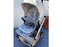 Mama's & Papa's URBO2 luxury pushchair with floral insert