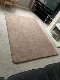 Brown 5x7 rug