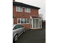 End terraced house situated on Penshaw Grove in the area of Moseley