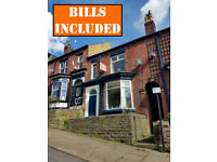 6 BEDROOMED student house within walking distance to Collegiate campus and City Centre. BILLS INC!!!
