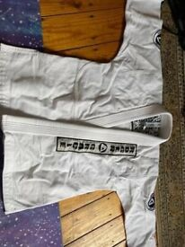 Small Roger Gracie Academy Gi, kit bag and optional rash vest