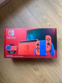 Red Nintendo Switch Mario Edition