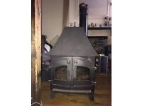 Villager coal effect gas stove