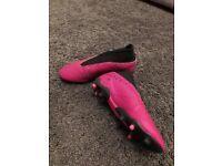 Adidas Nemeziz laceless boots size 2