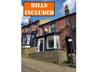 STUDENT ROOMS TO LET - within walking distance to Collegiate campus and City Centre. BILLS INC!