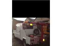 Mk3 ford transit crew cab recovery truck spec lift