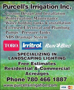 Winter irrigation system blow outs Strathcona County Edmonton Area image 1