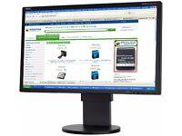 "New in Box NEC 22"" EA223WM LED-backlit Monitor - USB Hub & Stereo Speakers"