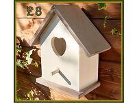 Wooden Nesting Box.