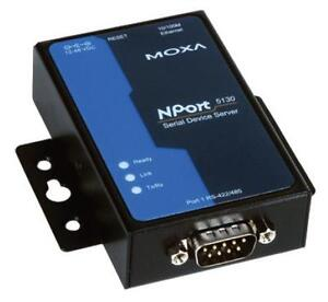 Industrial Moxa 1-port RS-232/422/485 device server