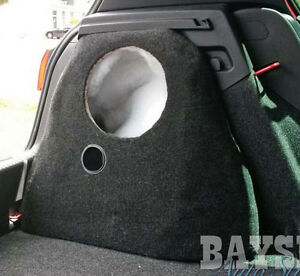 EMPTY-Volkswagen-Golf-GTI-10inch-subwoofer-enclosure-fibreglass-sub-box-2004