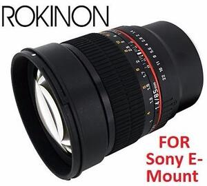 NEW ROKINON 85mm FIXED CAMERA LENS Electronics  Camera, Photo & Video  Lenses  Camera Lenses 90789817