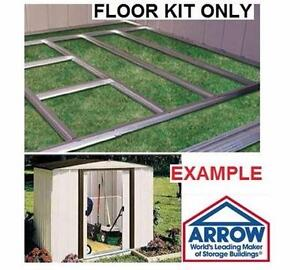NEW* ARROW SHED FLOOR FRAME KIT HOME OUTDOOR STORAGE BACKYWARD  Fits all arrow sheds size LAWN GARDEN 93922092