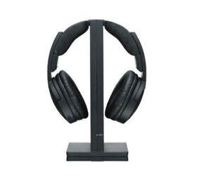 Sony Wireless Over-Ear Headphones (MDRRF985RK) - Black