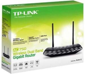 NEW---TP-Link AC750 Dual Band Wireless Router