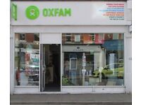 Volunteers needed urgently at Oxfam, Whitchurch Road, Heath, Cardiff, CF14 3JN