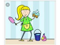 English Lady Offering Cleaning Services