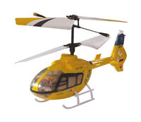 RC Mini 3CH Eurocopter EC135 Rescue IR Helicopter With Gyro NEW