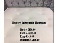 Memory Orthopedic Mattresses