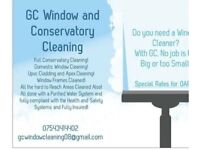 Gc Window & gutting,conservatory cleaning
