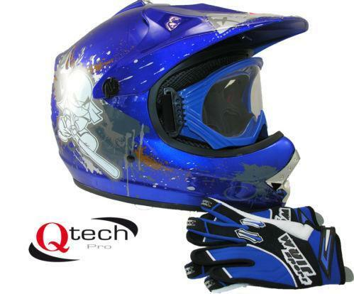 Kids Quad Bike Helmet Ebay