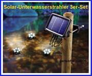 LED Solar Teich