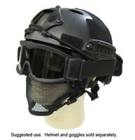 Airsoft Goggles Masks meshes and helmets