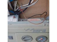 WORCESTOR BOSCH 230 boiler spare parts. Complete front control panel including