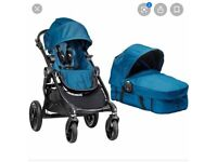 City Jogger select double pushchair