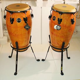 """Congas - 12 1/2"""" - Pair on Stands"""