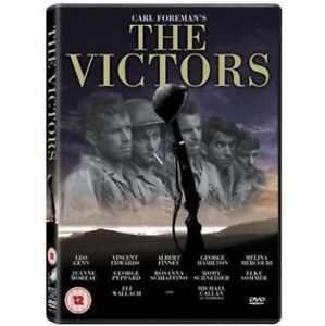 The Victors (1963) DVD, Classic War Film, (All Region, New, Factory Sealed)