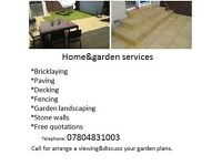 Home&garden services.
