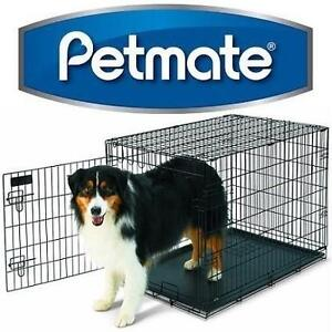 "NEW PETMATE DOG TRAINING RETREAT WIRE CAGE - 36""x24""x27"" - LARGE - PETS 107988568"